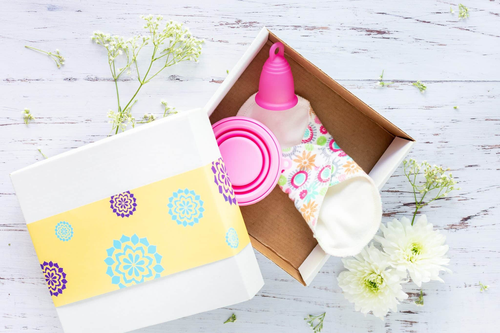 pink menstrual cup in box 1560288 scaled