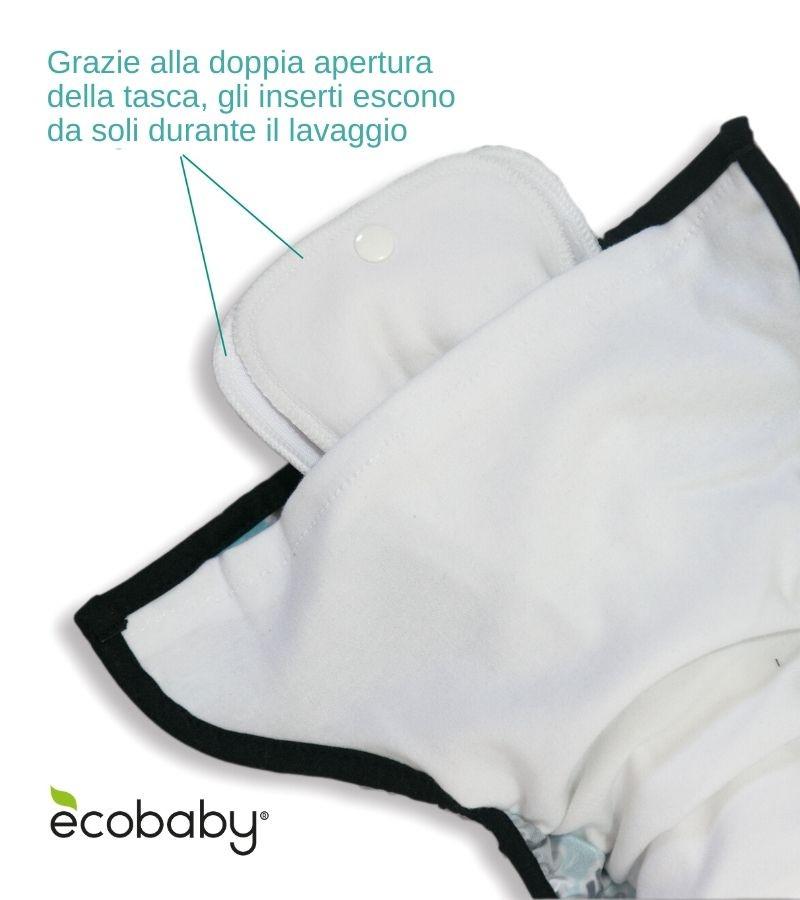 Pannolino Lavabile Pocket Taglia Unica Thirsties 2