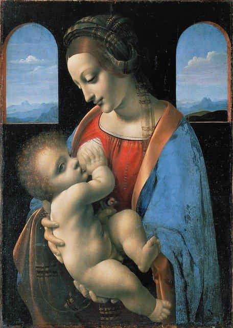 allattamento madonna con bambino 1