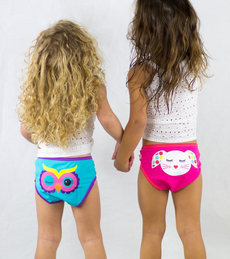 mutandine in cotone per bambini colorate