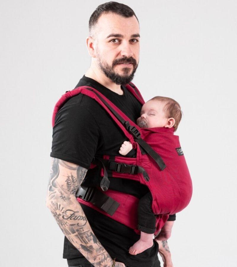 marsupio ergonomico regolabile isara the one standard toddler