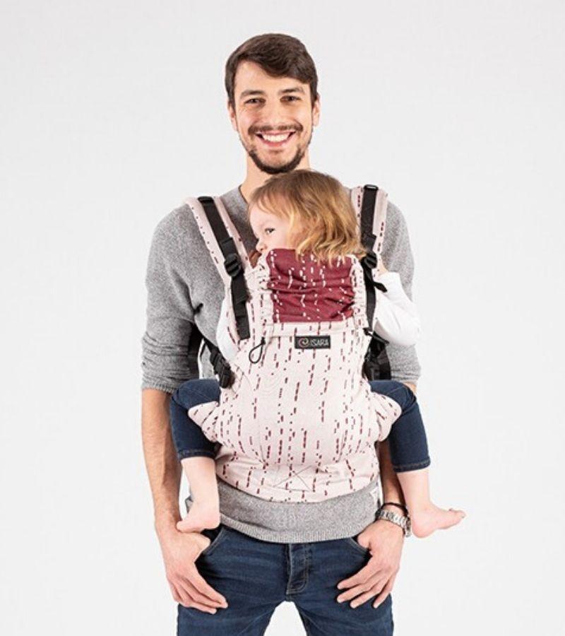 marsupio ergonomico regolabile isara the one standard toddler 1